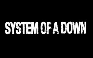 System of a down, название, шрифт, буквы, фон обои 1600x1200
