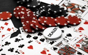 Poker, cards, chips обои