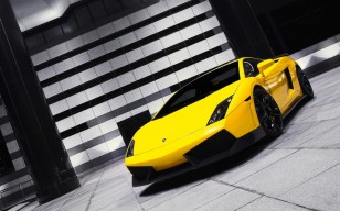 Lamborghini gallardo yellow обои