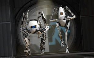 Valve, robots, Portal 2, роботы, cg wallpapers обои