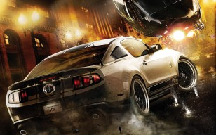Need for Speed, автомобиль, shelby, фонарь обои 1600x1200
