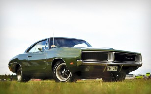 Dodge, charger, rt, muscle car обои