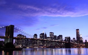 City, город, brooklyn bridge, Нью-йорк, new york, бруклинский мост обои 4752x3168