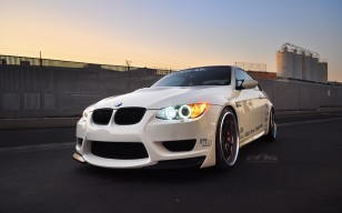 Eas, white, m3, e92, Bmw обои