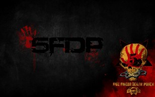 Логотип Five Finger Death Punch обои 1920x1200