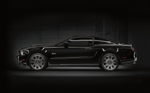 Muscle car, black, 5.0, mustang, Ford обои 1920x1200