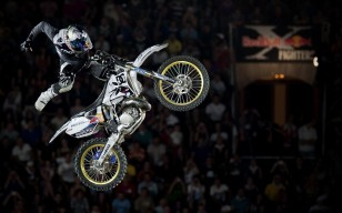 X fighters, red bull, прыжок обои 1920x1080