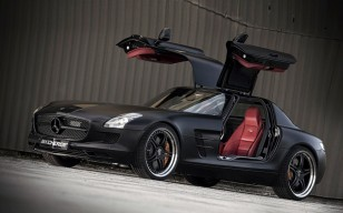 Kicherer Mercedes Benz SLS Supersport Edition Blac обои 1600x1200