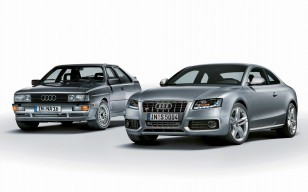 Old and New Audi обои
